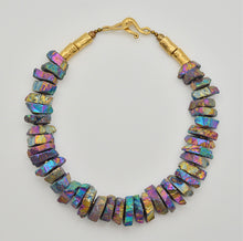 Load image into Gallery viewer, Peacock Ore  Necklace