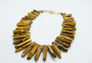 """Be Golden"" Necklace - Featured on Bravo's Southern Charm New Orleans"