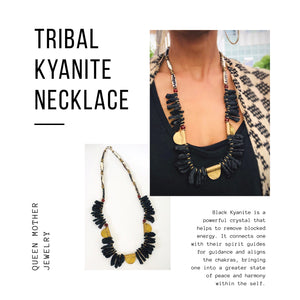 Tribal Kyanite Necklace