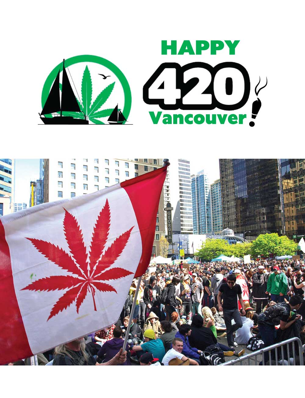 420 Vancouver! We're coming for you this weekend!