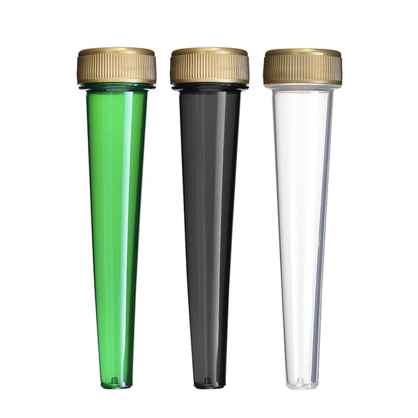 102mm Screw Top Conical Joint Tube - Multiple Colours Available - Qty 1000