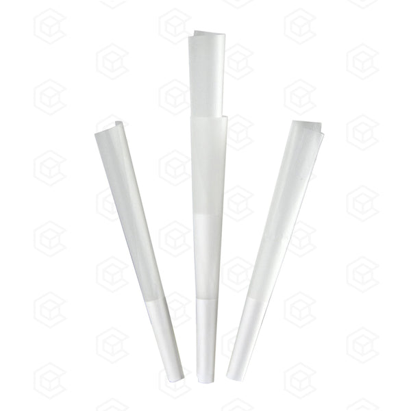 84mm x 26mm Pre-Rolled Cones - White - Qty 900