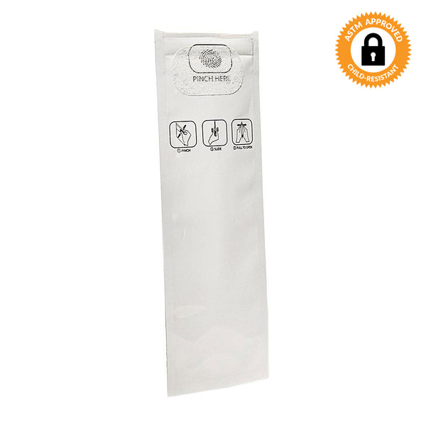 "Pinch N Slide ASTM Child Resistant Exit Bags - Fits 3-4g - 2.5"" x 9"" - Qty 250"