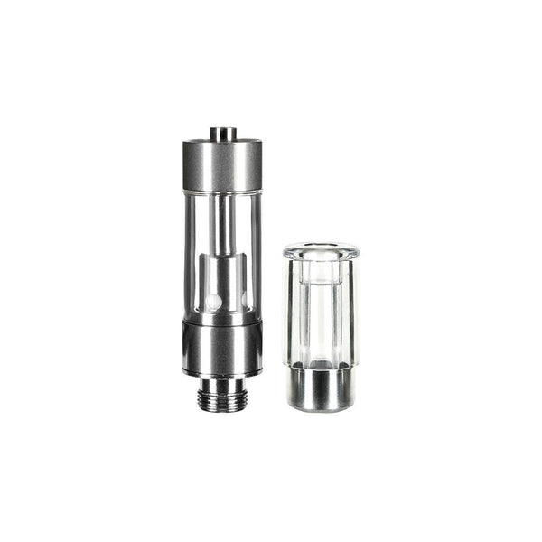 CCELL® M6T Plastic Cartridge with Clear Round Mouthpiece - Qty 100