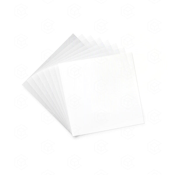 4x4 FEP Non-Stick Sheets - Ultra Clear - Qty 500