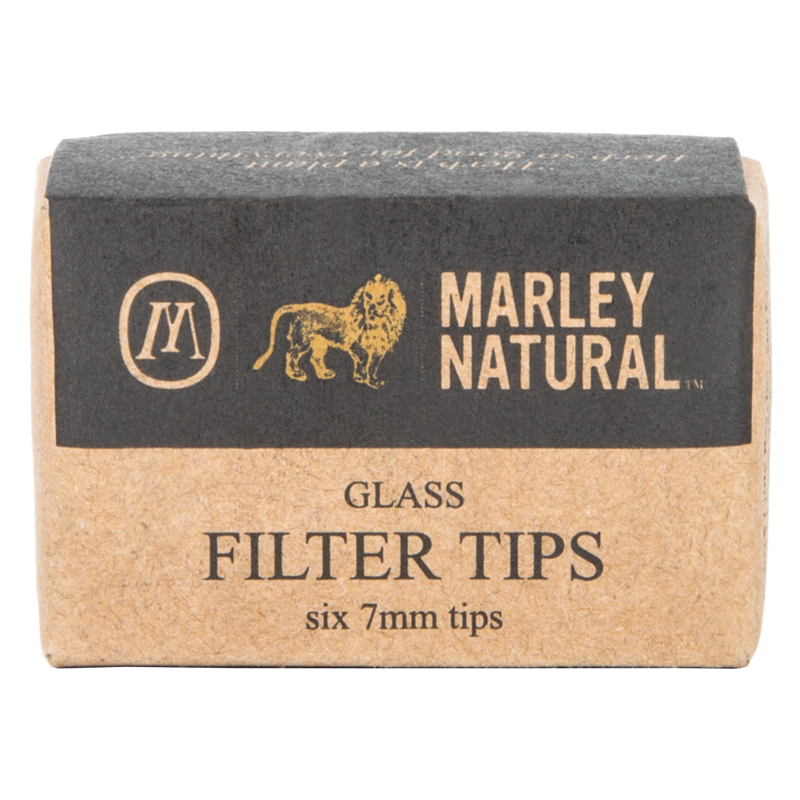 Marley Natural Inside Glass Filter - 7mm - 6 PK - Multiple Colours Available