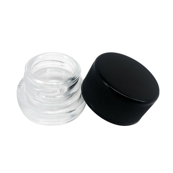 5ml Glass Concentrate Jar with Child-Resistant Cap - Qty 250