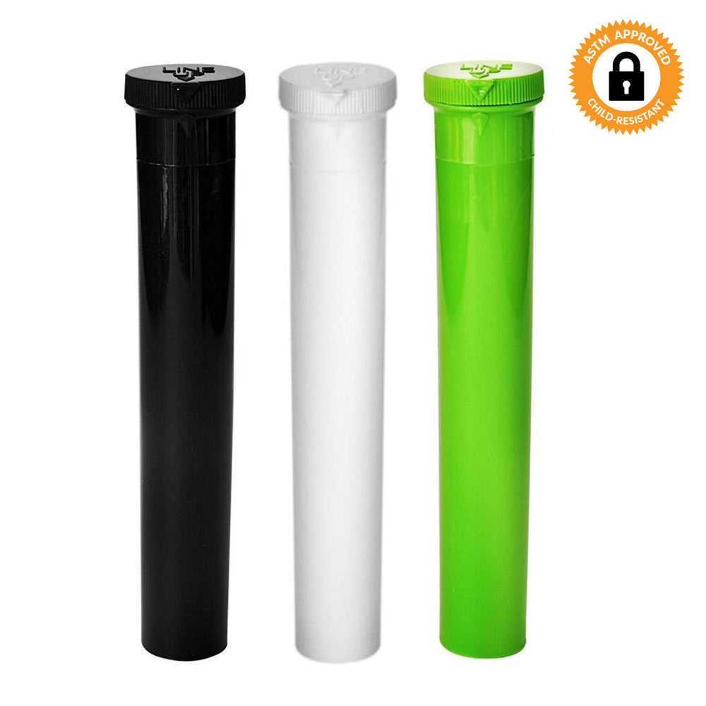 116mm Opaque CR Line-Up Blunt and Cone Tubes - Multiple Colours Available - Qty 500