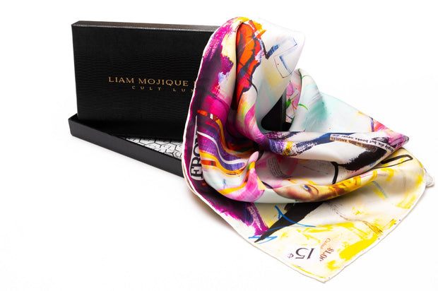More Taste Than Money silk women's scarves