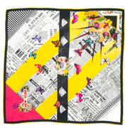 Butterfly Season women's silk scarf