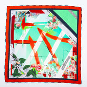 Kiss in the Dark 2 men's silk scarf