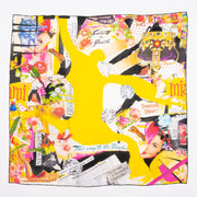 Salute To Youth large silk scarf