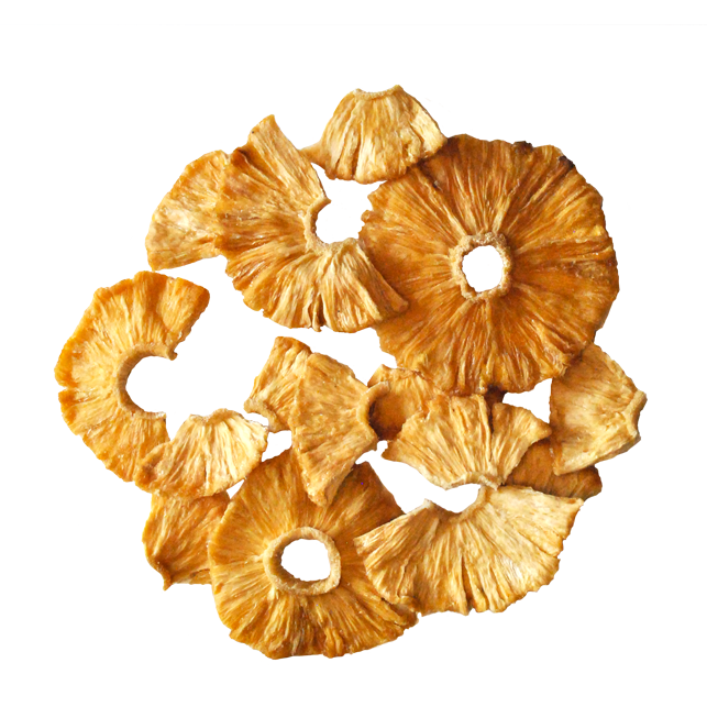 BULK Organic Dried Pineapple (Rounds) - 500 G