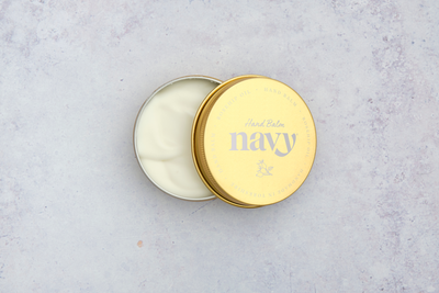 NEW Navy Hand Balm Tin