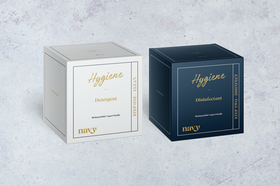 NEW Navy Hygiene Box Kit