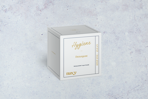 NEW Step 1 Navy Hygiene Box