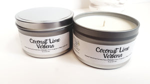 Coconut Lime Verbena Natural Soy Candle