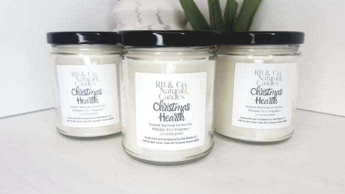 Christmas Hearth Natural Soy Candle
