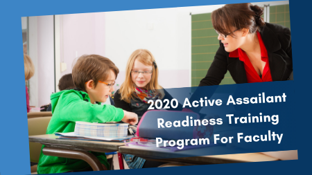 2020 School Active Assailant Readiness Training Program For Individual Faculty