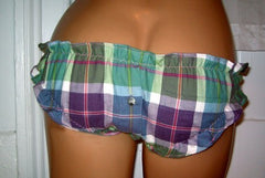 Button Placket Flannel Bloomers