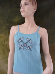 Dragonflies on Organic Tank Top