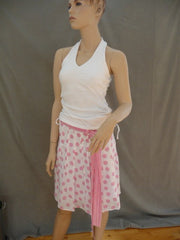Vintage Pretty in Pink Dot Skirt