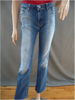 Bootcut Stretch Light Wash Denim Pant