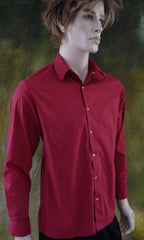 Mens Vintage Cranberry Dress Shirt