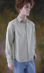Mens Vintage Stripe Shirt