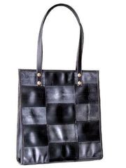 Patchwork Retreads Large Tote