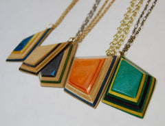 G Metric Necklace