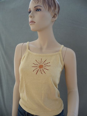 Sunburst on Organic Tank Top