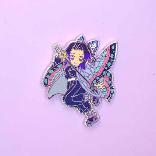Butterfly Girl Pin