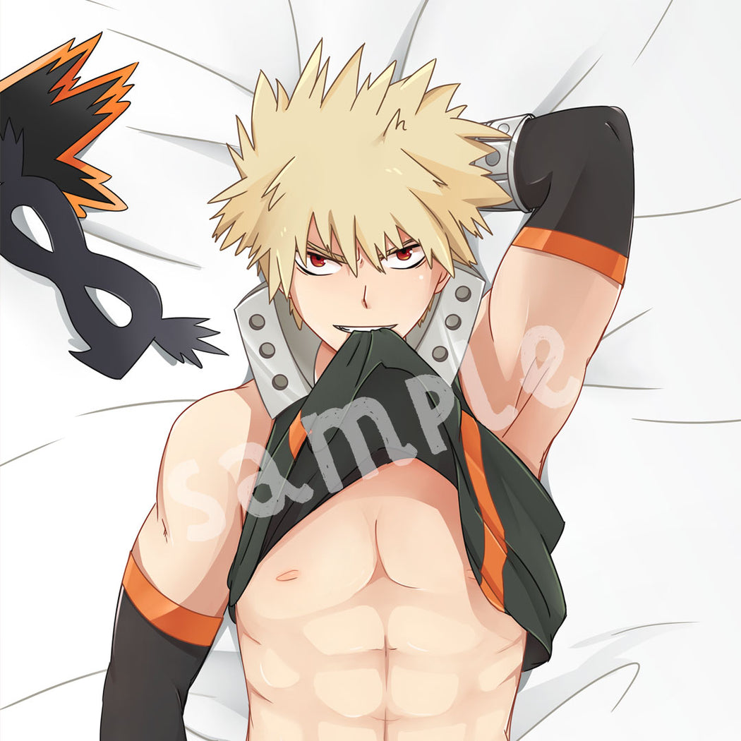 Bakugo Body Pillow