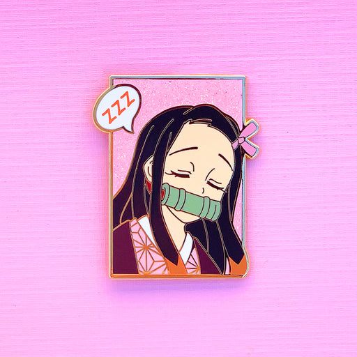 Demon Little Sister Bust Pin