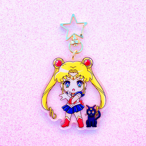 Moon Magical Girl Acrylic Charm