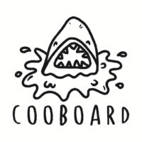 COOBOARD BALAYAGE BOARD WITH TEETH