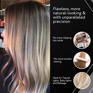 Cooboard Balayage Board with Teeth | Original Highlighting Paddle from the Maker of Cooboard Hair Highlighting Kit | Easy to Clean, Sturdy, Lightweight