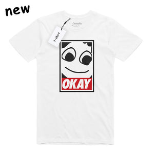 Obey? Okay! T-shirt