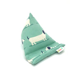 Pilola Techcushion Duck Egg Blue Dachshunds Pillow Stand Holder