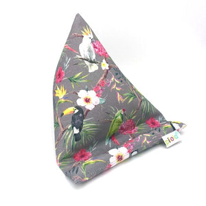 Pilola Techcushion Jungle Exotic Birds Pillow Stand Holder Cushion