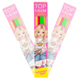 Top Model Neon Colouring Pencil set by Depesche