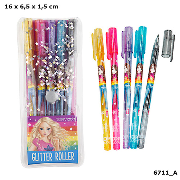 Top Model Glitter Gel Pen set by Depesche
