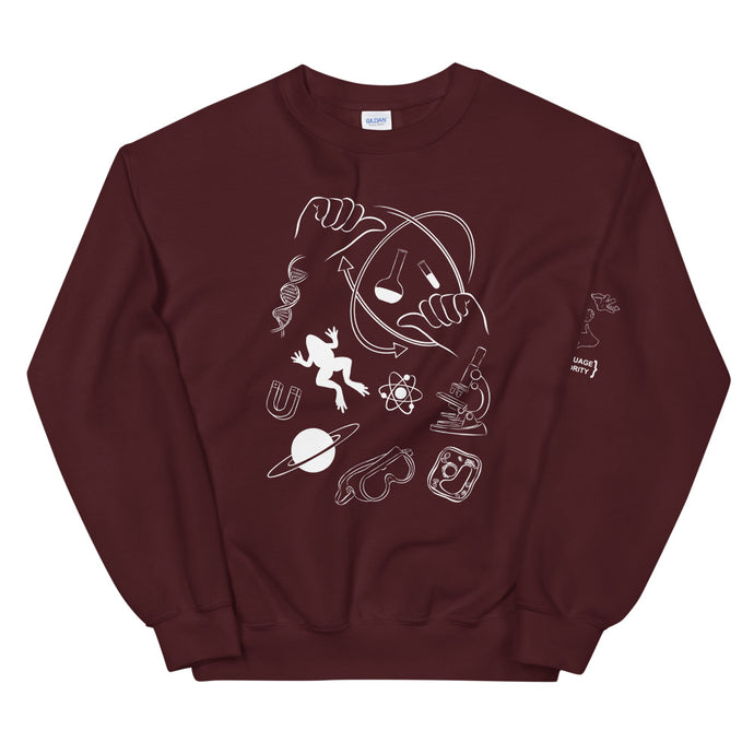 SCIENCE (ASL) Crew Neck Sweatshirt