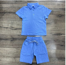 Load image into Gallery viewer, Boys polo top and short set (various colours)