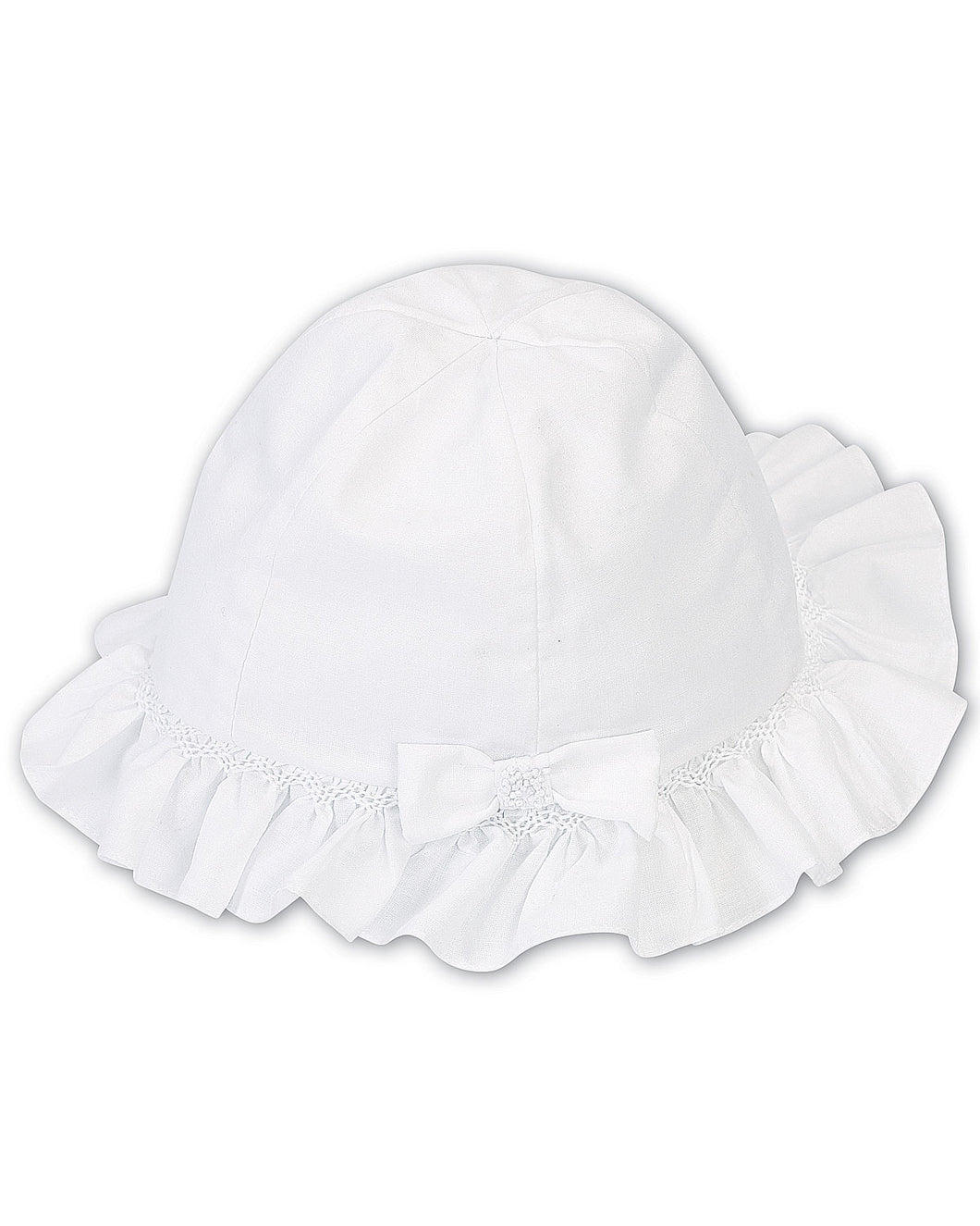 Sarah Louise  summer hat white