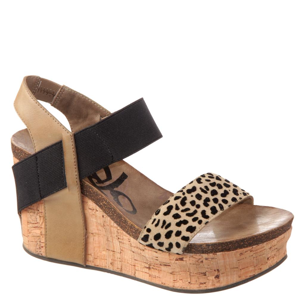 OTBT - BUSHNELL in DESERT Wedge Sandals-East Coast She, South Carolina