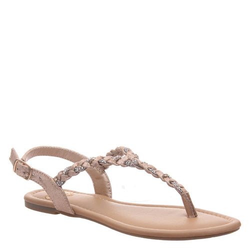 CHARGE in MEDIUM TAUPE Flat Sandals-CHARGE in MEDIUM TAUPE Flat Sandals Take Charge of your life and your summer in this braided thong in black. Goddess inspired and feminine to the max, it's the perfect effortless combination to every relaxed, warm weather occasion. Women's flat sandal. Braided thong silhouette. Buckle closure. Sandal by Madeline.-East Coast She, South Carolina