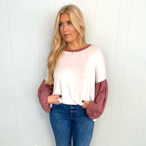Spring Forward Long Sleeve Top-Find your perfect casual tops by searching our collection of women's tops online today! Shop trendy tanks, blouses, tees, bodysuits and more. New items added daily. Tops for women.-East Coast She, South Carolina
