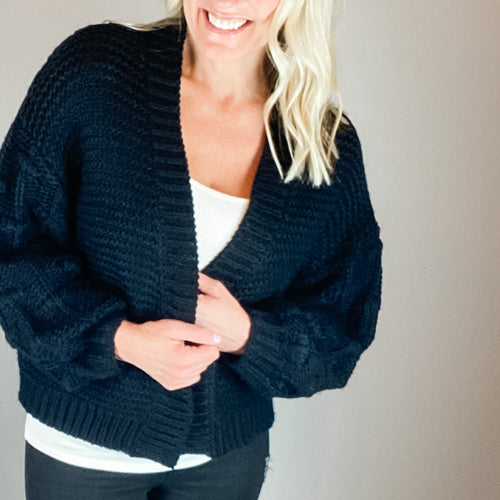 The Lillian Cardigan-Find your perfect casual outerwear, sweaters and cardigans by searching our collection of women's cardigans online today! Shop trendy outerwear, sweaters, cardigans and more. New items added daily. -East Coast She, South Carolina